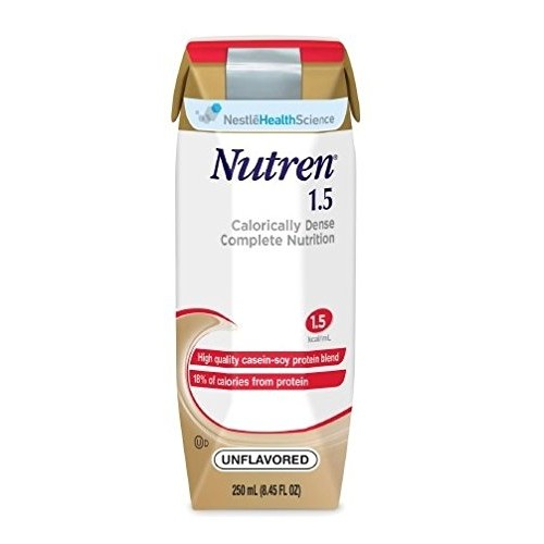 Nutren 1.5 Cal Formula Unflavored Formerly Vanilla, 250 Ml, Te...