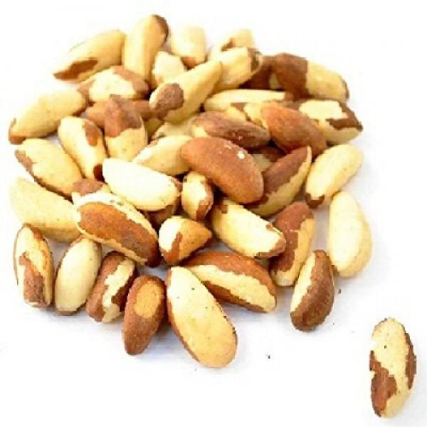 Bulk Nuts Organic Whole Raw Brazil Nuts 5 Lbs