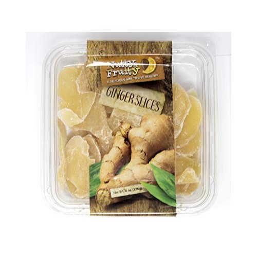 Nutty & Fruity Dried Ginger Slices, A Great On-The-Go Snack- 2/8...