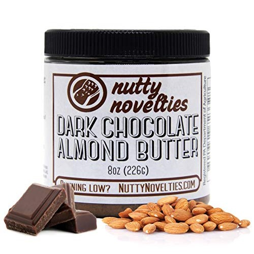 Nutty Novelties Dark Chocolate Almond Butter - High Protein, Swe...