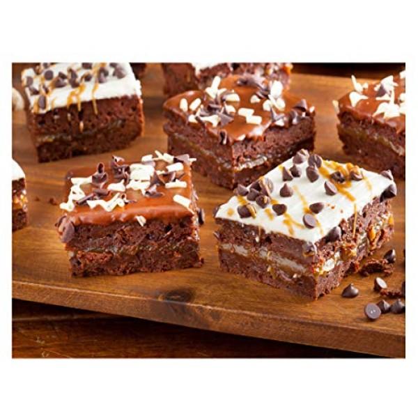 Valhalla Brownies, Triple Layered Brownie, Food Gift, Dessert