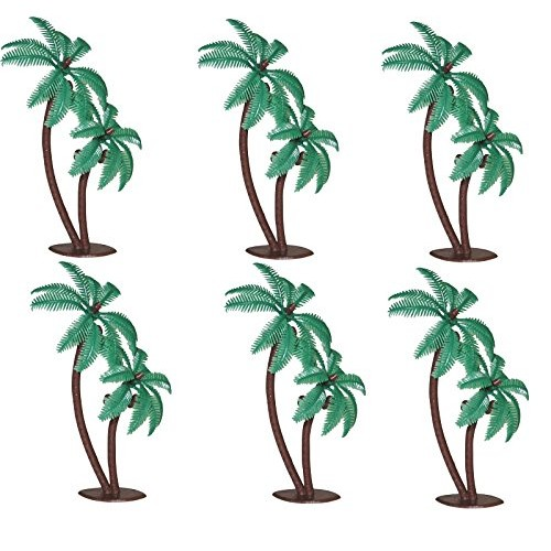 Oasis Supply Twin Coconut Palm Trees Cake Decorating Pick, 4-Inc...