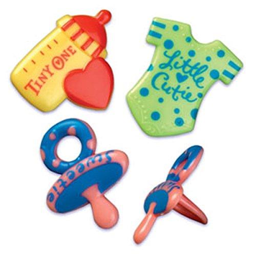 Oasis Supply BC B-84 Baby Symbols Puffy Rings, 12-Pack
