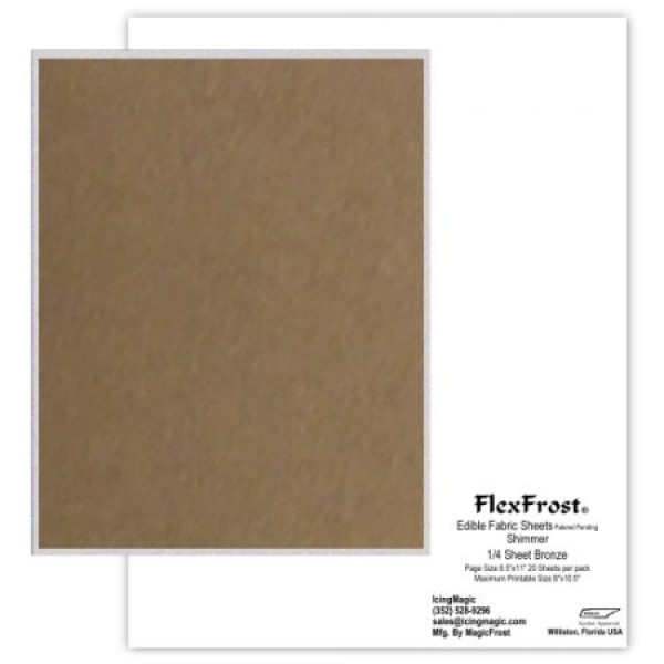 Oasis Supply Magic FlexFrost Edible Image Fabric Icing Sheets - ...