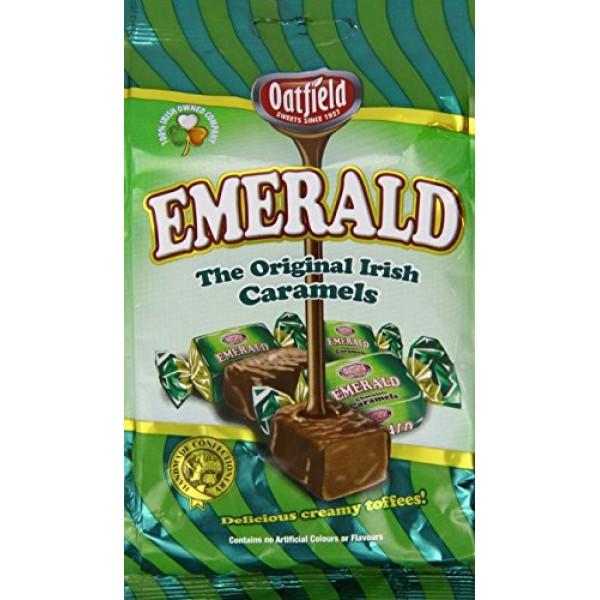 Oatfield emerald original irish caramels - sweets from ireland