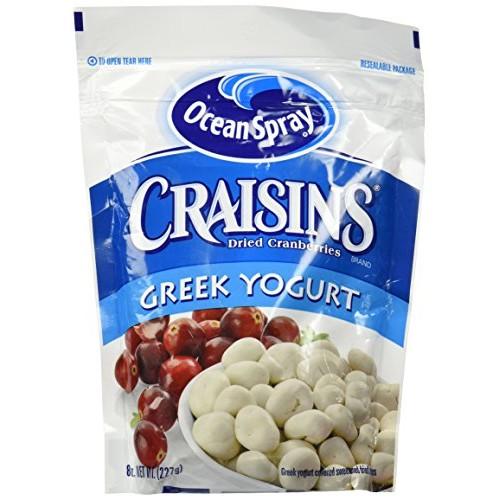 Ocean Spray Craisins Dried Cranberries Greek Yogurt 1 Resealabl...