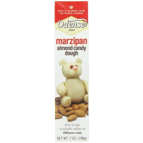 Odense Marzipan Almond Candy Dough, 7-Ounce Pack of 6