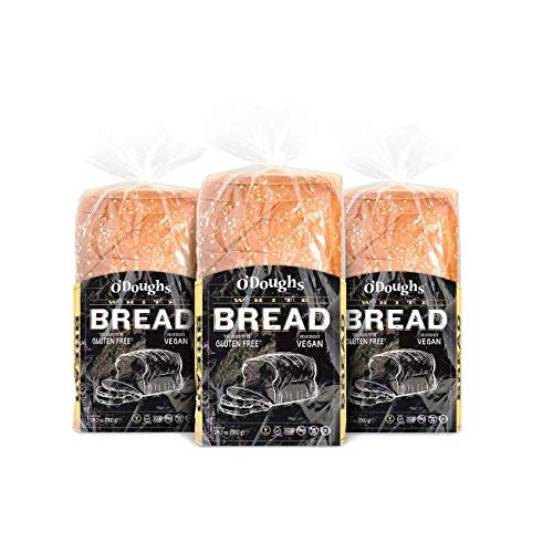 ODough Gluten Free White Bread Loaf, 24.7 Ounce [3 Packs]