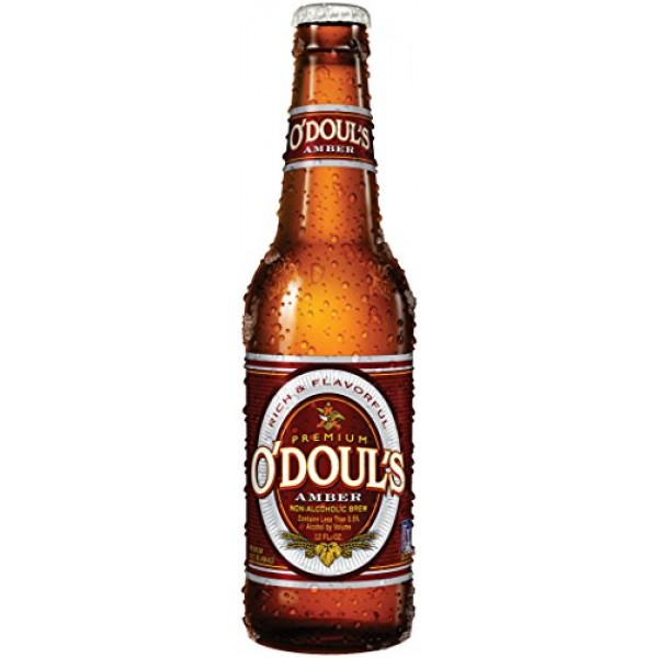 Odouls Amber Non-alcoholic Beer Six Pack