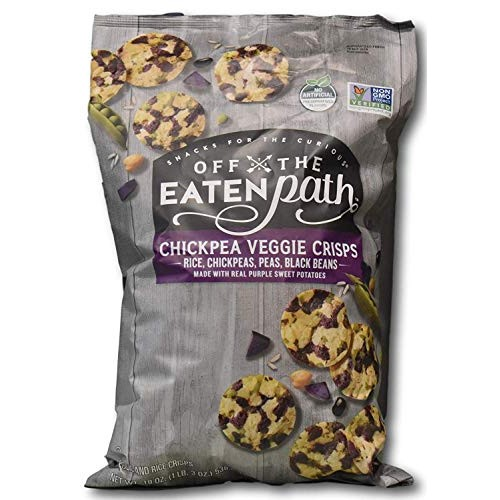 Off The Eaten Path Chickpea Veggie Crisps with Rice, Chickpeas, ...