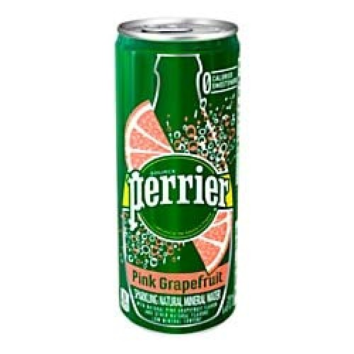 Perrier Flavored Sparkling Mineral Water, Pink Grapefruit, 8.45 ...