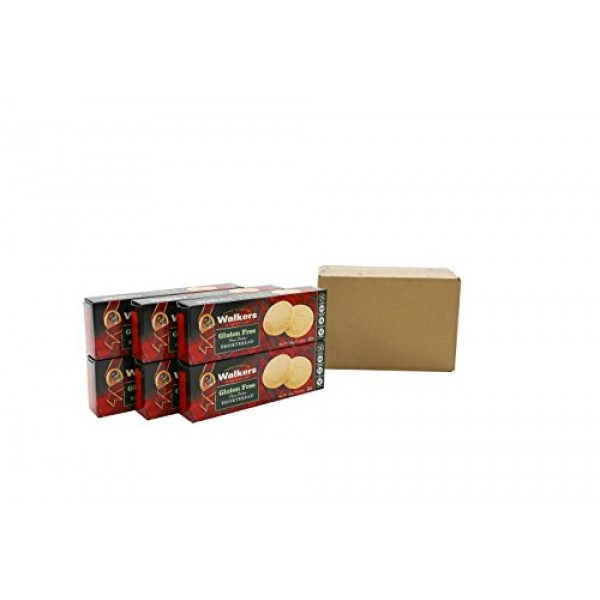 OfficeSnax OFX01020 Walkers Gluten-Free Shortbread Rounds, Brown