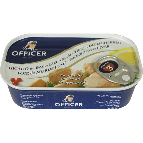 Officer Smoked Cod Liver 4.26 oz 2 PACK