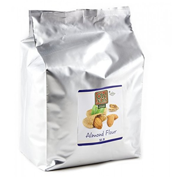 5LB Almond Flour Blanched, Extra Fine Ground Almond Meal - Oh! N...