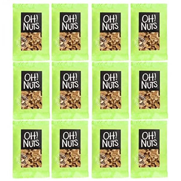 Oh! Nuts Walnuts Raw Single Serve   Healthy Premium Walnut Grab ...