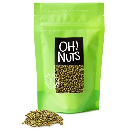 Oh! Nuts Mung Beans 5lb Bulk Bag   Dried Kosher Moong Dal   Vega...