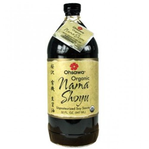 Ohsawa Nama Shoyu, Organic and Aged in 150 Year Cedar Kegs for E...