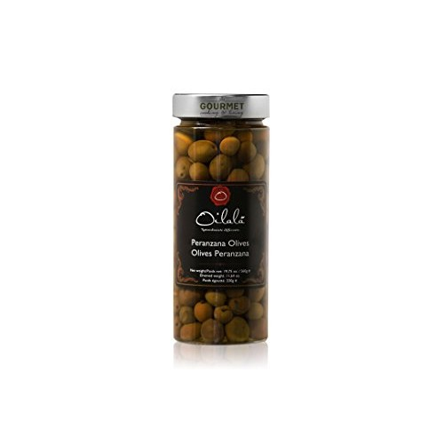 Peranzana Olives - Black - Puglia - 20 oz