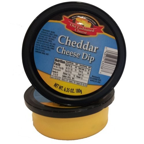 Old Fashioned Cheese Dip, Cheddar, 6.35 Ounce Pack of 12