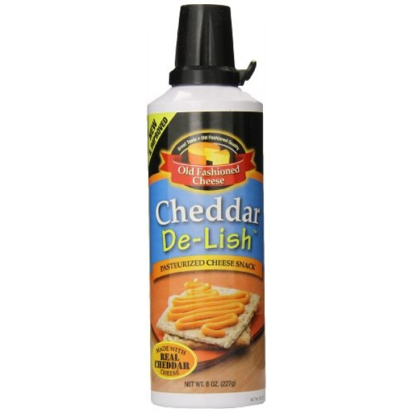 Old Fashioned Cheese Cheddar De Lish Cheese Spread, 8 Ounce