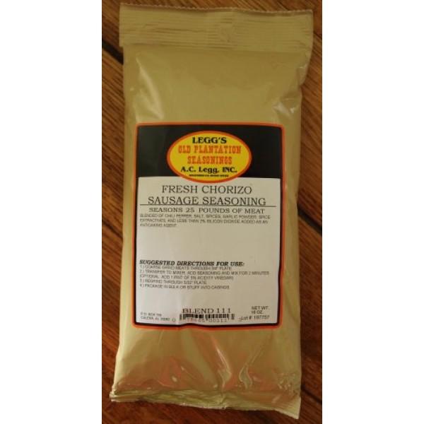 A.C. Legg Chorizo Sausage Seasoning - 16 Ounce