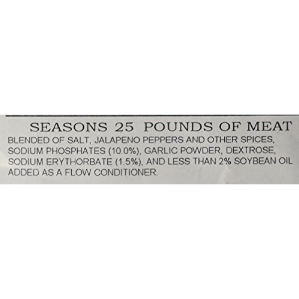 A.C. Legg Jalapeno Smoked Sausage Seasoning, 14 Ounce - with Cure