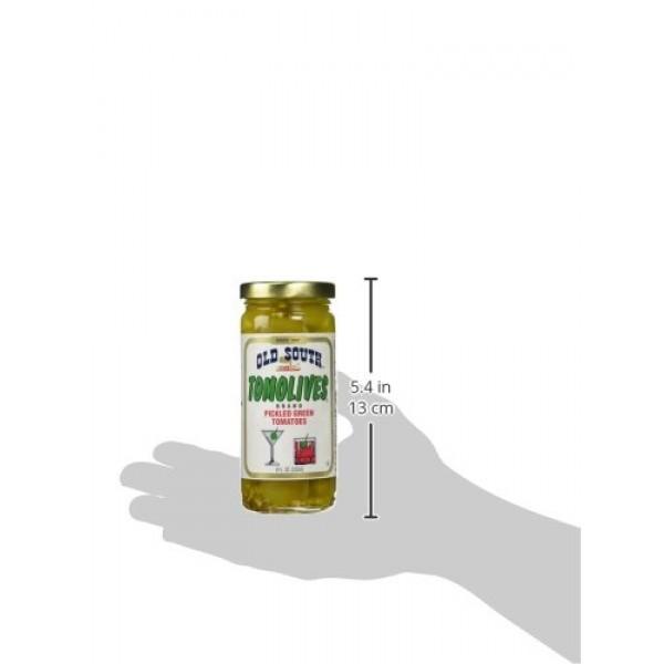Old South Tomolives Pickled Green Tomato, 8 oz jar | Gluten Free...