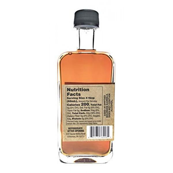 Bourbon Barrel Aged Pure Maple Syrup, 8.4oz, 250ML