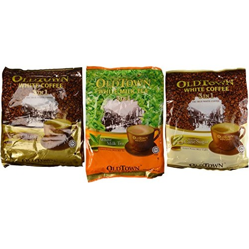 OLD TOWN Variety Pack with Classic, Natural Cane Sugar, Milk Tea