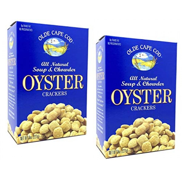 Olde Cape Cod Oyster Crackers, Soup & Chowder, Multi-Pack, 8 oz,...