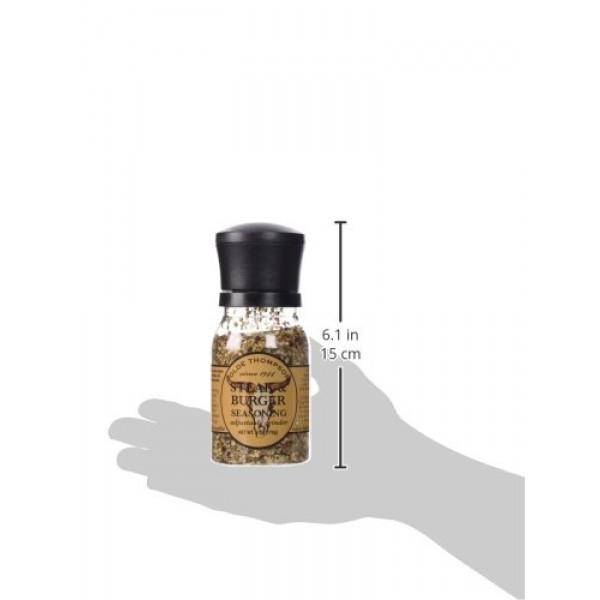 Olde Thompson 1020-10 Disposable Spice Grinder, 6-Ounce Steak an...