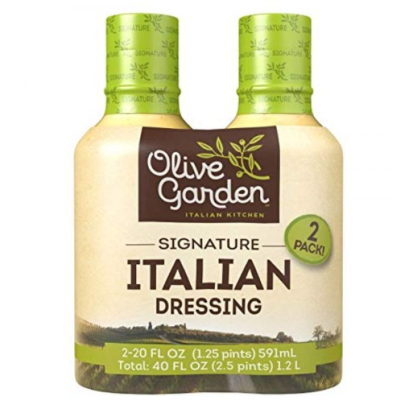 Olive Garden Signature Italian Salad Dressing, 20 Ounce Pack of 2