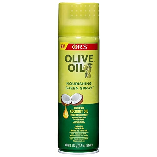 ORS Olive Oil Nourishing Sheen Spray infused with Coconut Oil 11...