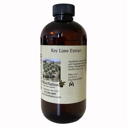 OliveNation Pure Key Lime Extract - 4 oz - Perfect for candies, ...