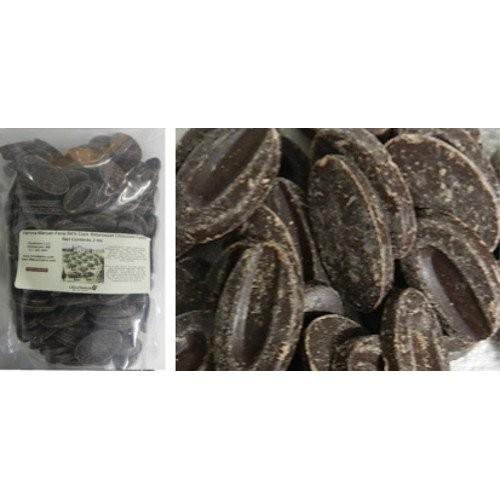 Valrhona 64% Manjari Dark Bitter Sweet Chocolate Feve 1/2 lb