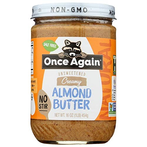 Once Again - American Classic Natural Almond Butter - Creamy No-...