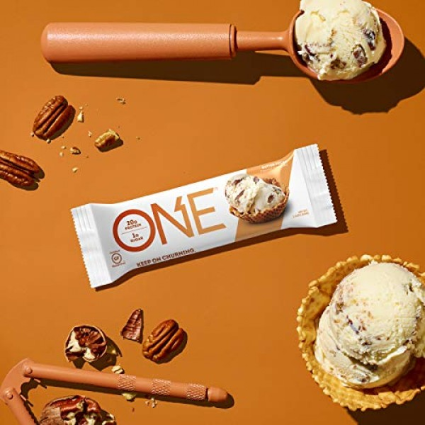 ONE Protein Bars, Butter Pecan, Gluten Free Protein Bars with 20...