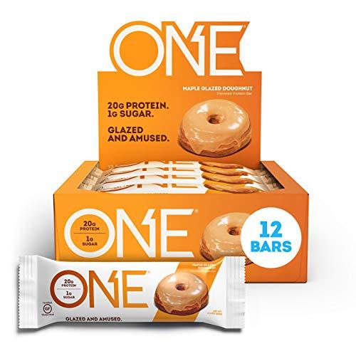 ONE Protein Bars, Maple Glazed Doughnut, Gluten Free Protein Bar...