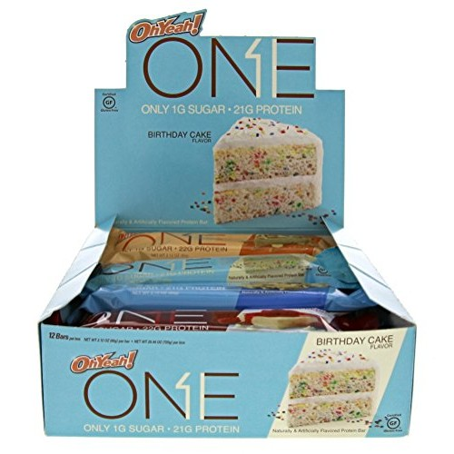 Oh Yeah! ONE Protein Bar Variety Pack, 12 count, Gluten-Free Pro...
