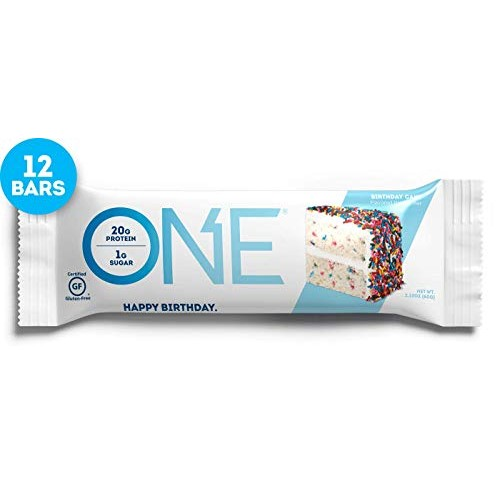ONE Protein Bars, Birthday Cake, Gluten Free Protein Bars with 2...