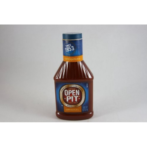 Open Pit Barbecue Sauce Original 18 Oz