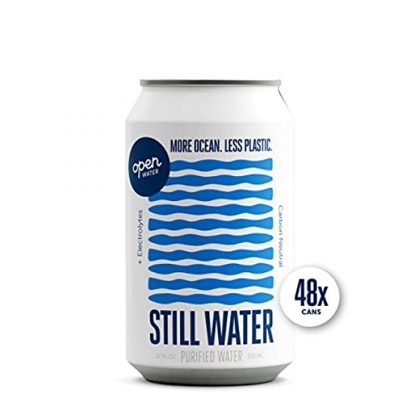 Open Water - Still Cans 4 Cases - Canned Still Water