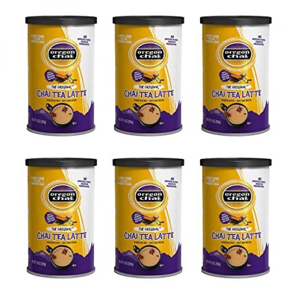 Oregon Chai Original Chai Tea Latte Powdered Mix 10-Ounce Contai...