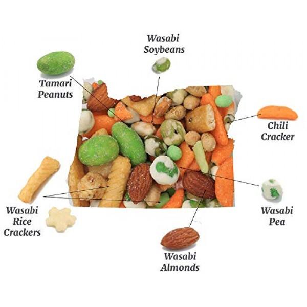 Oregon Farm Fresh Snacks - Willamette Wasabi Mix - Gourmet Snack...