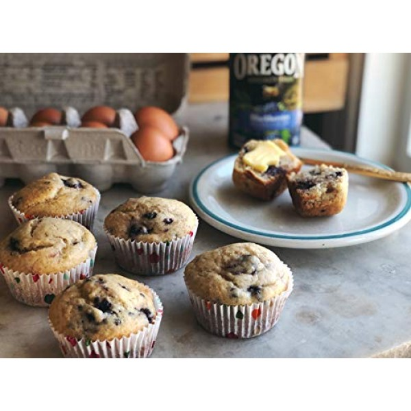 Oregon Fruit Blackberries in Syrup, 15-Ounce Cans Pack of 8