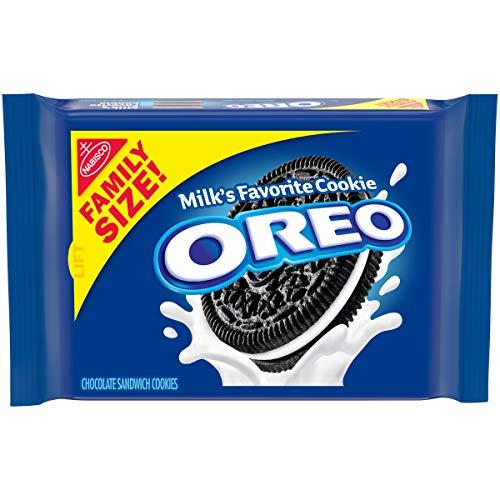 Oreo Chocolate Sandwich Cookies - Family Size, 3.1 Ounce