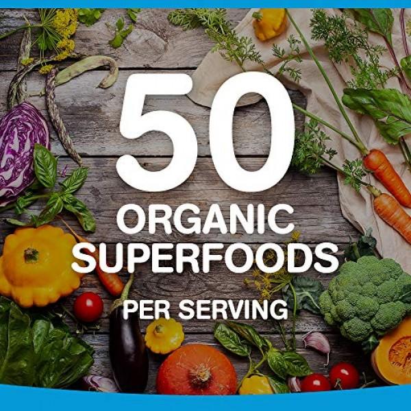 Orgain Organic Plant Based Protein + Superfoods Powder, Vanilla ...