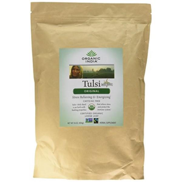 Organic India Tulsi Mix, Immune Support, 1 Pound