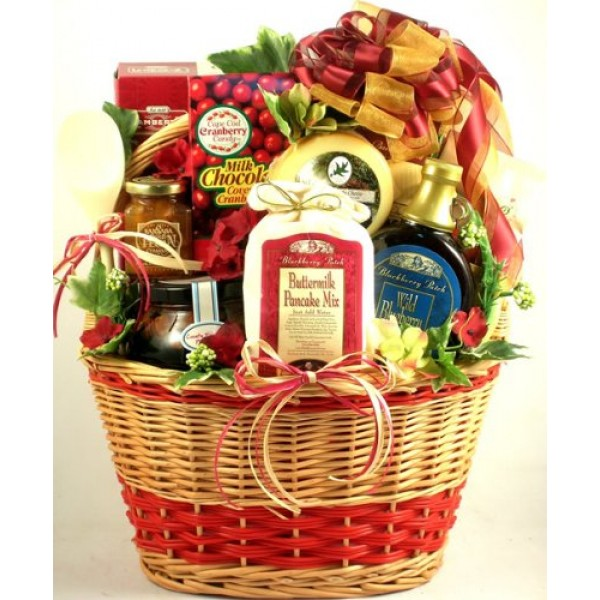 Country Charm Deluxe Breakfast Gift Basket