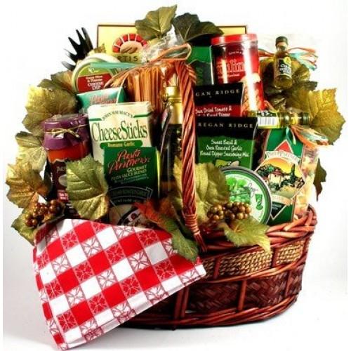The Abundance of Italy Gourmet Gift Basket   Christmas Gift Idea